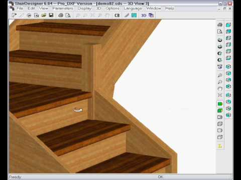 Change A Straight Stair To Quart Turn Design Part 2 Wood Designer Ltd You