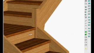 Stairdesigner Change A Straight Stair To A Quart Turn Design Part 2