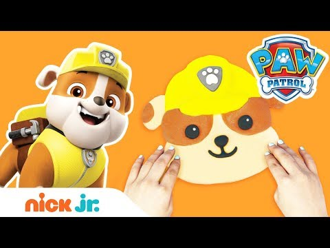 Make DIY PAW Patrol Characters w/ Slime! 🐶 Slime Time Ft. Rubble | Stay Home #WithMe | Nick Jr.