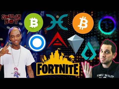 "Are You A Bitcoin ""One Percenter?"" ⚠️ Fortnite $BTC MALWARE! Soulja Boy Bitcoin Song 