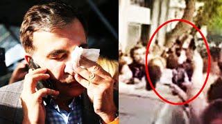 Нападение! На Саакашвили накинулись в балаклавах, спецназ поднят по тревоге. Михо в кrovи