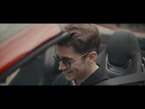 Charles Leclerc puts the Portofino through its paces