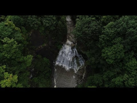 Drift above Delphi Falls County Park, your new happy place (video)