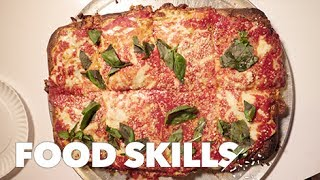 The Perfect Upside-Down Pizza, According to Scarr Pimentel | Food Skills