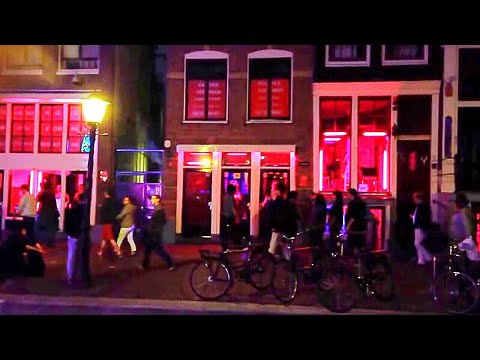 Red Light District Amsterdam's Famous Tourist Attraction Netherlands