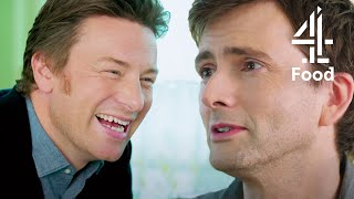 Cooking & Chatting with David Tennant | Jamie and Jimmy's Friday Night Feast