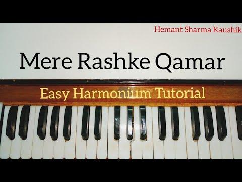 Mere Rashke Qamar Harmonium Tutorial Notes (Baadshaho)