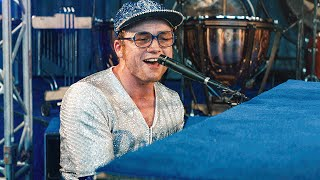Rocket Man Song Scene - ROCKETMAN (2019) Movie Clip