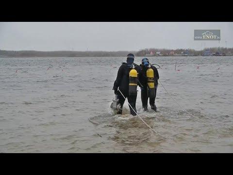 Работа водолазов города Нижневартовск
