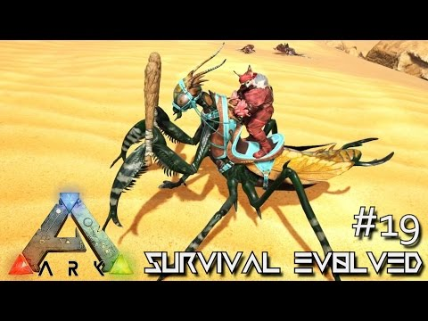 ARK: SCORCHED EARTH - PERFECT 120 MANTIS TAME !!! E19 (ARK SURVIVAL EVOLVED GAMEPLAY)