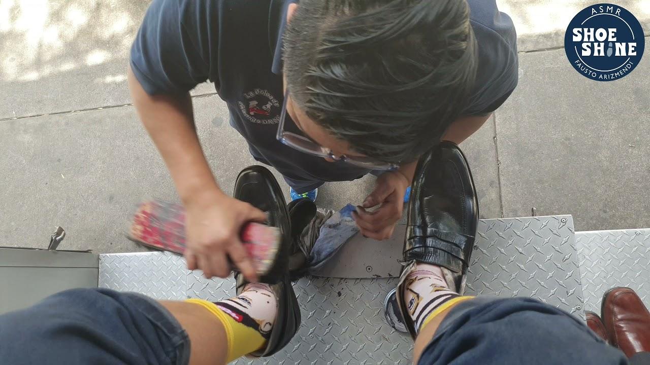 S4E100 Jason Rupp Meeting Maru #mexico #mx #ASMR #shoeshine #faustoarizmendi