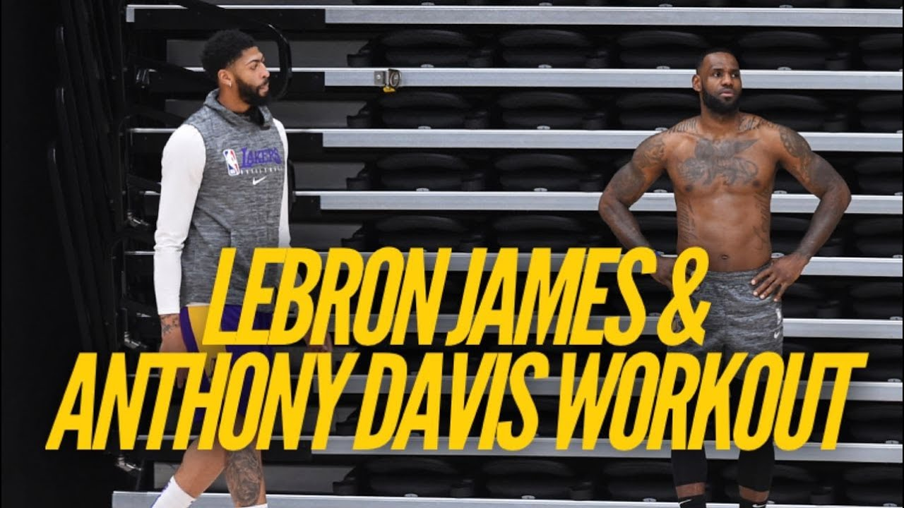 Inside Lakers Practice: LeBron James & Anthony Davis Prepare For NBA Return - Lakers Nation