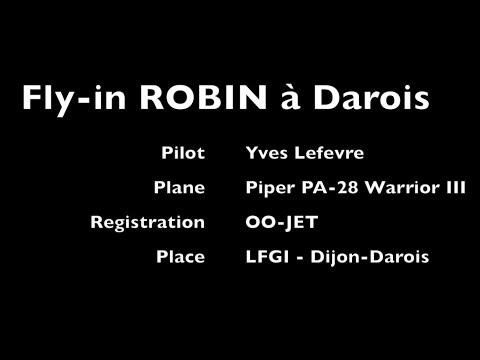 Fly in ROBIN à Dijon Darois