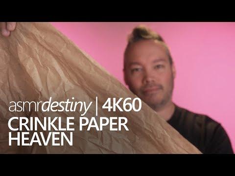 ASMR   Crinkle Paper Heaven (4K60)