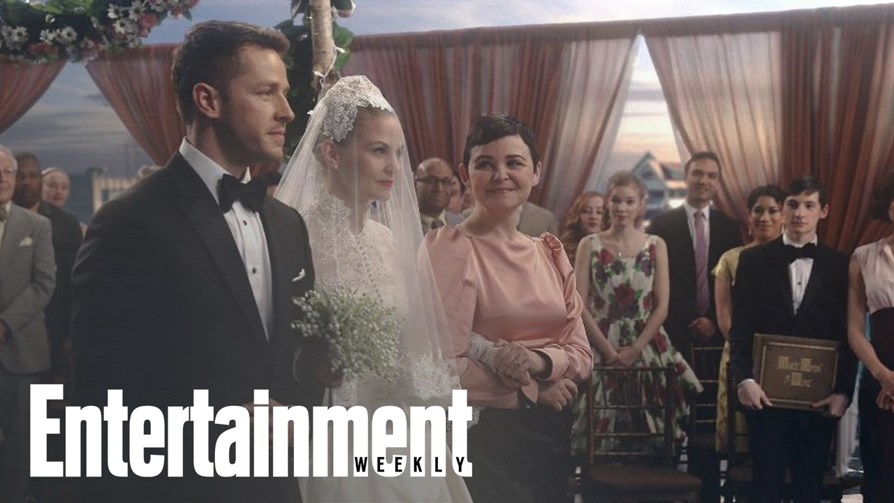 Once Upon A Time: Emma's Wedding Dress In Musical Episode ...