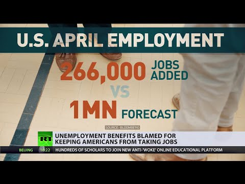 Post-pandemic economy | Unemployment benefits blamed for keeping Americans from getting jobs