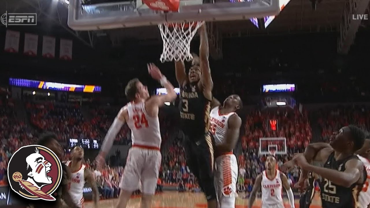 Florida State's Trent Forrest Posterizes 2 Clemson Defenders