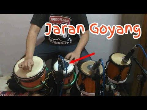 Jaran Goyang _cover Kendang by Irawan