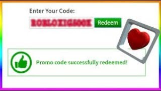 *MAY*ALL WORKING PROMO CODES ON ROBLOX 2019! (NEW) ROBLOX PROMO CODE-3 (Hovering Heart) ROBLOX