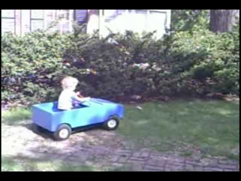 homemade electric toy car