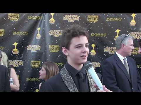 Max Charles Interview at the 2017 Saturn Awards