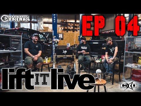 Lift it LIVE EP 004: Lift Kits Head to Head
