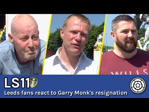 LS11 | Leeds fans react to Garry Monk's resignation
