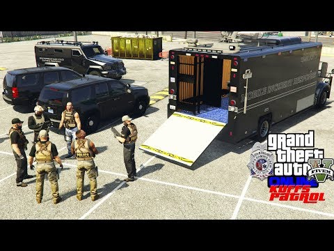 GTA 5 FiveM Police Roleplay - San Andreas Task Force High Risk Calls & Warrants - KUFFS Live #214