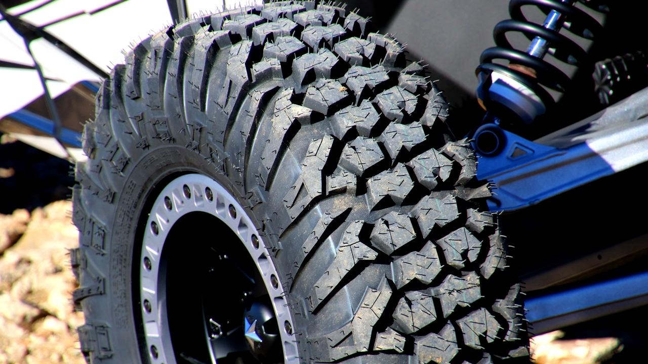 All Terrain Tires >> EFX MotoVator UTV Tire - Crawl - YouTube