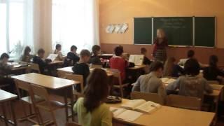Урок української літератури 5-Б класу