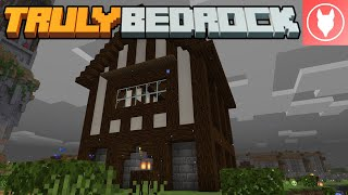 Truly Bedrock SMP : Episode 40 - New Shop in the Community Village