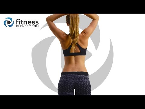 10 Minute Butt and Thigh Workout to Burn Fat, Build Lean Muscle & Tone