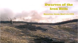 LOTR, ROTWK Edain Mod 4.4.1, Dwarves FFA Part 1