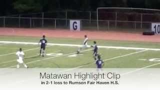 9-21-2015 | Boys Varsity Soccer | Matawan Regional H.S. vs Rumson Fair Haven H.S.