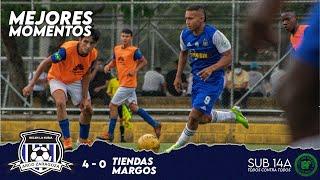 ARCO ZARAGOZA 4 - 0 Tiendas Margos   MEJORES MOMENTOS   LAF SUB 14A Primera Fase