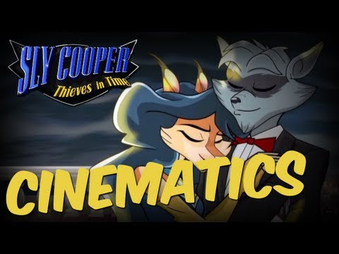 Sly Cooper: Thieves In Time (1080p) All Cinematics Cutscenes Sly Cooper 4 PS3 VITA