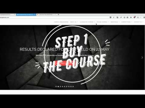 Enrolling and Watching Coding Blocks Online Courses
