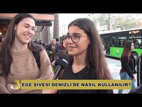 EGE ŞİVESİ DENİZLİ'DE NASIL KULLANILIR