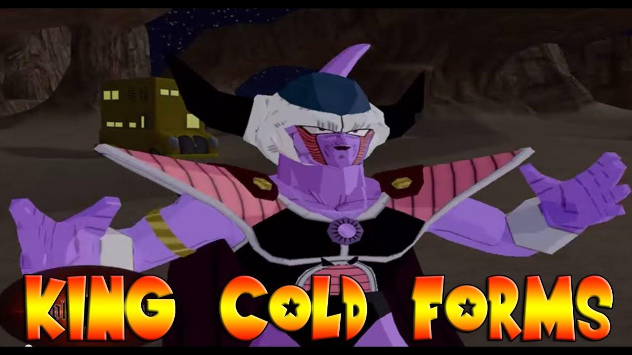 King Cold Forms 1-2-3-4-5 VS King Vegeta & Bardock - DBZ ...