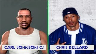 GTA SAN ANDREAS VOICE ACTORS