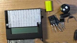 Обзор измерителя емкости и ESR ЭПС, индуктивности(Видео обзор универсального измерителя емкости конденсаторов, их ЭПС (ESR) индуктивности, сопротивлений и..., 2013-12-14T13:05:47.000Z)