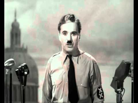 The Great Dictator - Great Speech for Humanity
