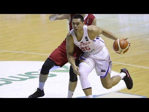 Gilas Pilipinas vs Singapore Highlights - SEABA 2017 (BEST PLAYS!)