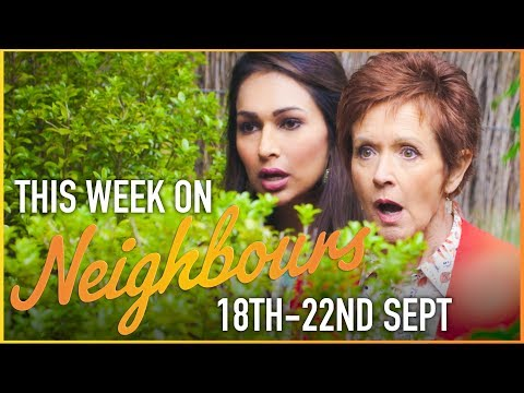 This Week On Neighbours (18th - 22nd September)