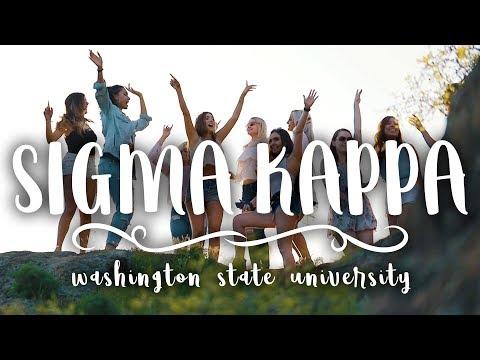 Sigma Kappa // Washington State University 2018