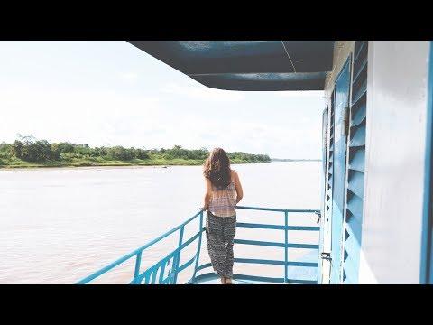 Weltreise Tag 242 • Auf dem Frachtschiff nach Iquitos • Peru • Vlog #029