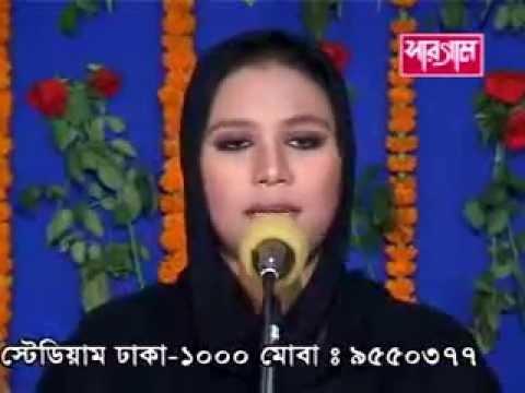 Ruma Bangla Folk Song  Amar doyal aynay dekhao Dekhi