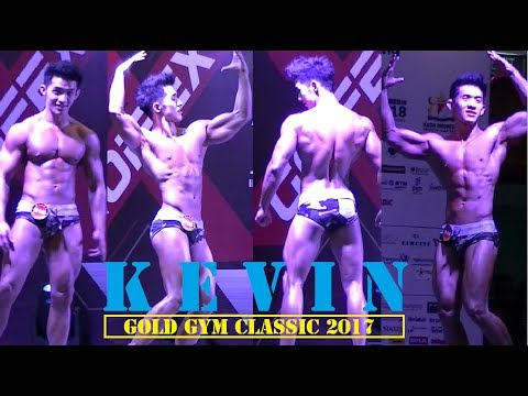 Kevin - Gold Gym Classic 2017 JCC Jakarta, Men Sport Model