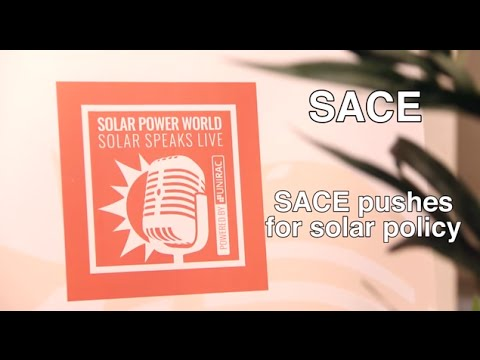 SACE pushes for solar policy