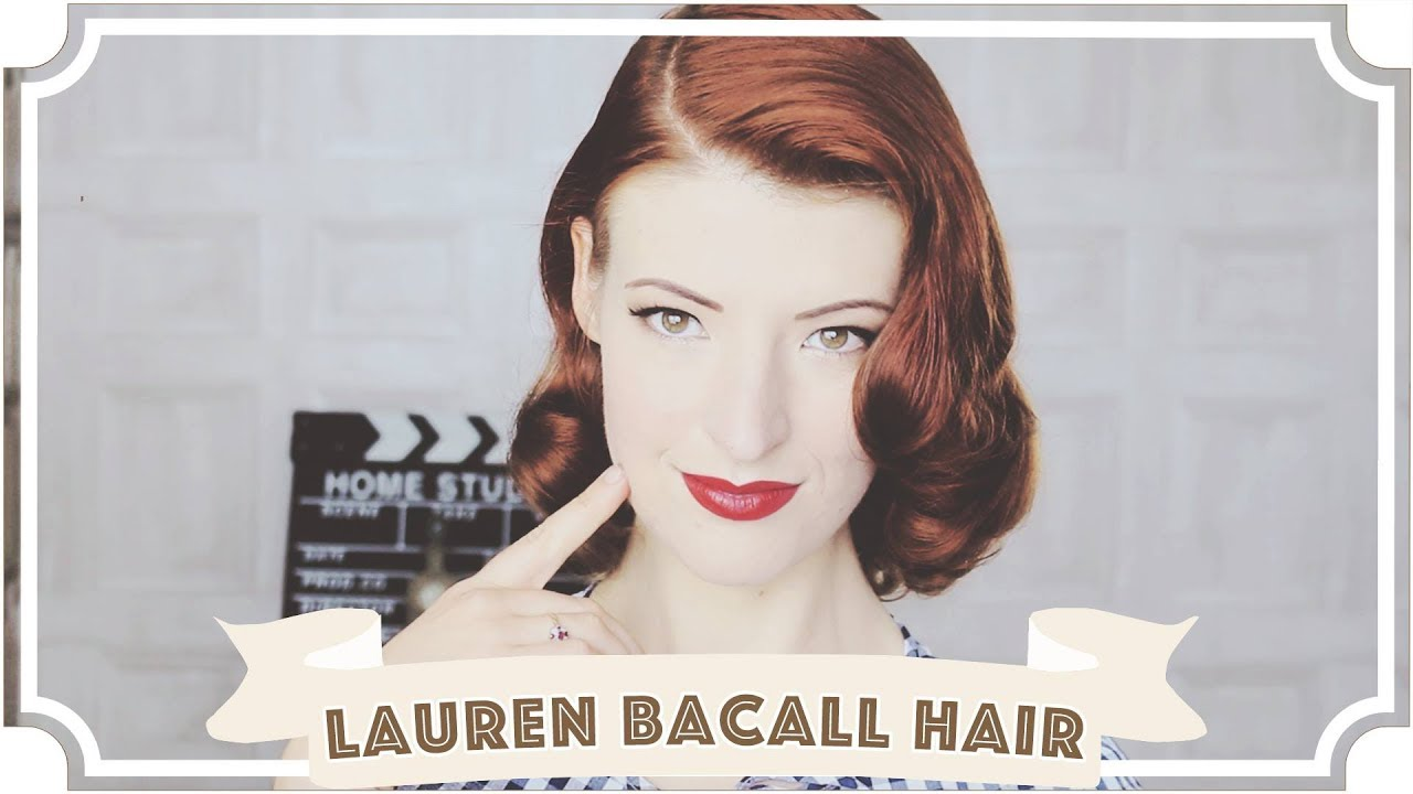 Vintage Pin Curls Diagram Emergency Heat Sequencer Lauren Bacall Hair Tutorial How To Curl Your Cc